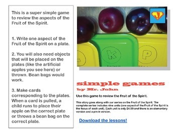 Simple Games: Fruit Matching