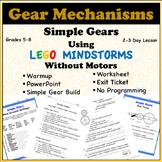 Simple Gear Train Mechanism