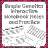 Simple Genetic Inheritance Interactive Notebook Foldable a