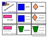 Simple Geometry Vocab Matching Game 2