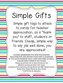 Simple Gifts Bundle