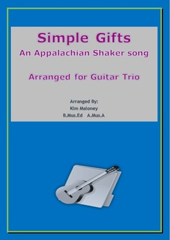 Simple Gifts: Guitar Trio.