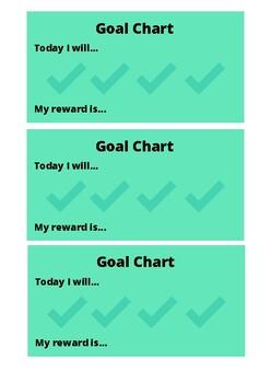 Simple Goal Chart
