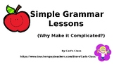 Simple Grammar Lessons
