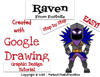 Create An Easy Graphic Design Digital Fortnite Raven Google