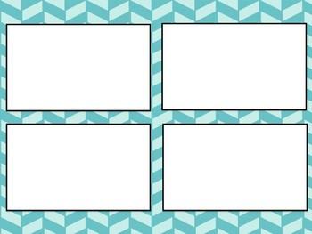 Simple Graphic Organizer for Narrative Skills