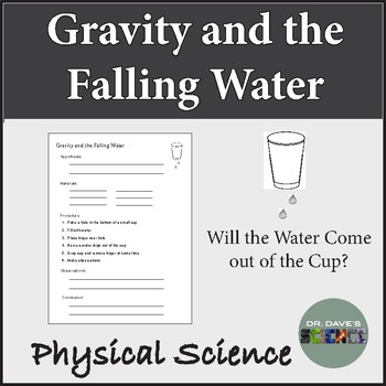 Simple Gravity Experiment