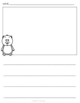 Simple Groundhogs Day Stationary
