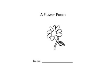 Simple Guided Reading Flower Poem