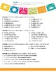 Simple Gustar Worksheet