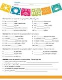 Spanish Simple Gustar Worksheet - JB
