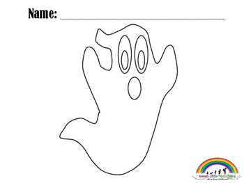 Simple Halloween Coloring Pages