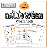 Simple Halloween Worksheets