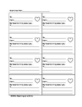 Simple Handmade Valentines