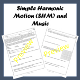 Simple Harmonic Motion and Music