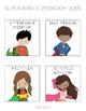 Simple Hero Classroom Job Chart