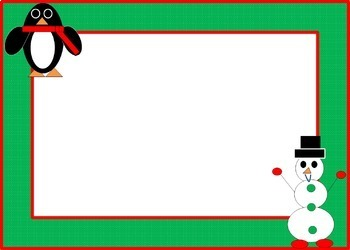 FREE Simple Holiday Frames