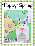 Hoppy Easter Bunny Glyph, Writing, and More Kinder Craft- Simple & Easy
