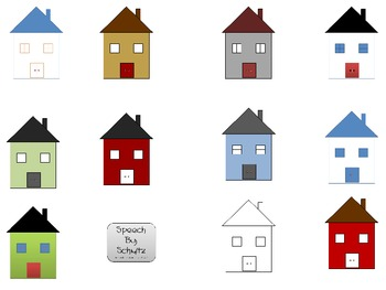 Simple House Clip Art- for Personal or Commercial Use