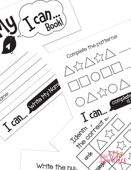 I Can Flipbook - I Can Statement Posters - Pre-K TK K - Bird