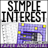 Simple Interest Activity Pack | Distance Learning | Digital and Print