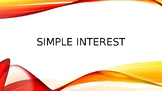 Simple Interest Activity Powerpoint