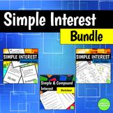 Simple Interest Bundle
