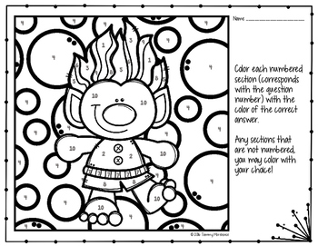 Simple Interest Coloring Page