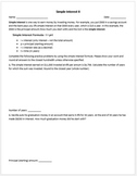 Simple Interest II Worksheet (Harry Potter Names!)
