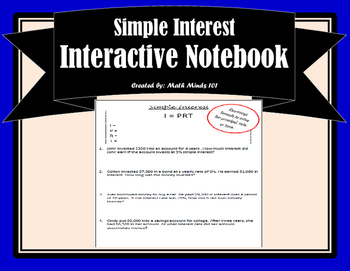 Simple Interest Notes