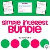 Simple Interest Bundle: 7.RP.3