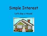 Simple Interest - Pick a House Activity - Writing in Math