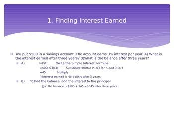 Simple Interest Powerpoint