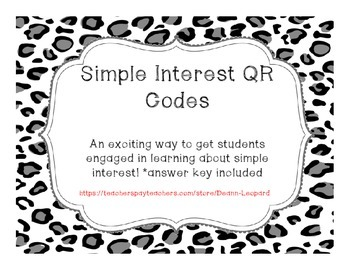 Simple Interest QR Code