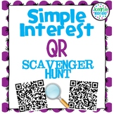 Simple Interest QR Scavenger Hunt