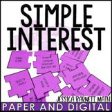 Simple Interest Scramble