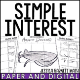 Simple Interest Solve and Sketch