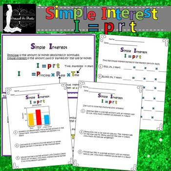 Simple Interest Worksheets