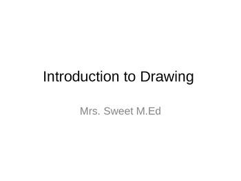 Simple Intro To Drawing