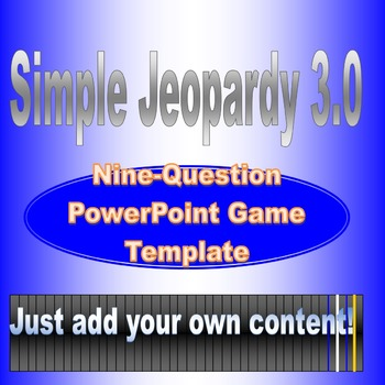 Simple Jeopardy 3.0