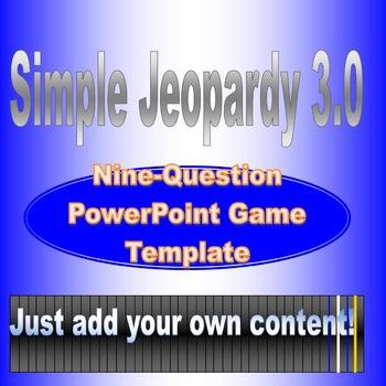 Simple Jeopardy 3.0