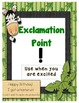 Simple Jungle Punctuation Posters