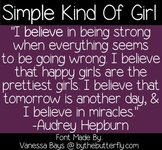 Simple Kind Of Girl - FONT - free for personal use