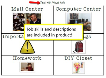 Simple Labels for the High School Special Education Classroom