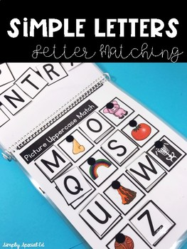 Simple Letters: Matching for Special Education