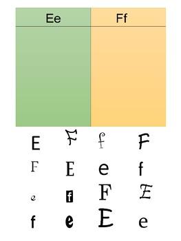 Simple Letter Sort