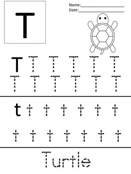 Simple Letter Tracing