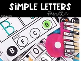 Simple Letters Bundle for Special Education
