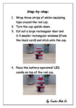 Simple Lighthouse Art Activity
