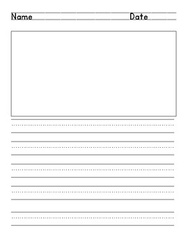 Simple Lined Writing Paper